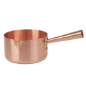 Copper Sugar Pot 8 inch diameter