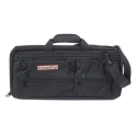 3 Section Knife Bag Deluxe, Black