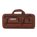 3 Section Knife Bag Deluxe, Chocolate Brown