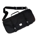 Three Compartment Knife Bag-Black
